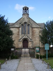 front of Gladsmuir church