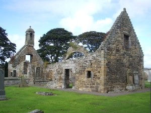 ruins of old Gladsmuir church