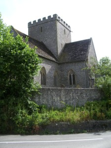side of Poynings church
