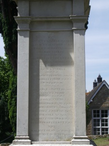 Storrington war memorial
