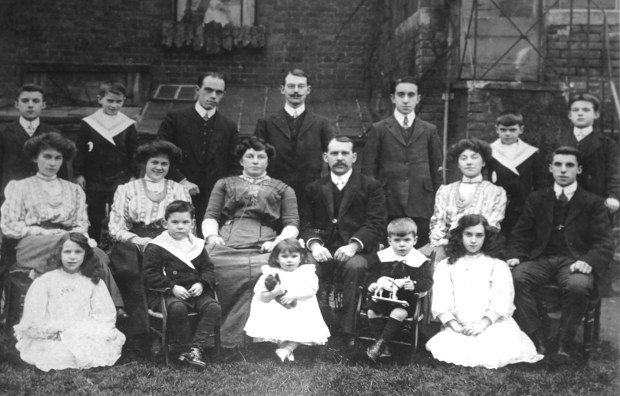 children of Adolph and Fanny Thomson